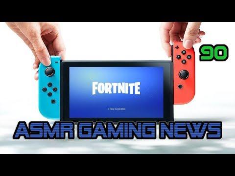 ASMR Gaming News (90) Fortnite, CoD Black Ops 4, Spider-Man, Nintendo Switch, E3 2018,  FF7, PS4 +