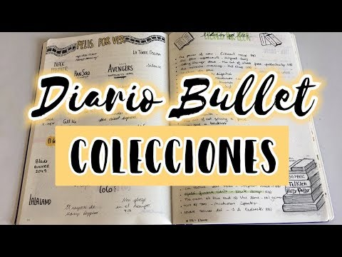 COLECCIONES: Inspiración e ideas para tu #DiarioBullet | Christine Hug