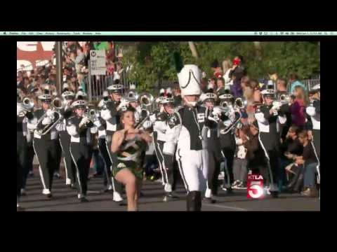 MSU Spartan Marching Band Rose Parade 2014