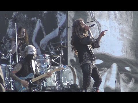 Rob Zombie - Never Gonna Stop (The Red, Red Kroovy) - Live Hellfest 2014