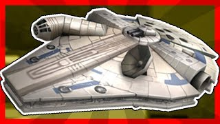 EVENT How to get the MILLENNIUM FALCON | ROBLOX