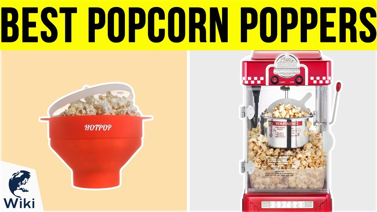 Best Poppers 2019 10 Best Popcorn Poppers 2019   YouTube