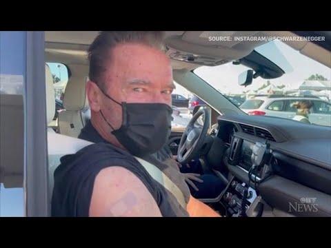 Schwarzenegger advocates for vaccine with 'Terminator' quote