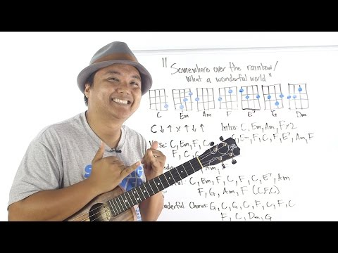Ukulele Whiteboard Request - Somewhere Over the Rainbow/ What a Wonderful World