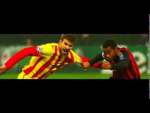 AC Milan Vs FC Barcelona 1-1 All Goals & Full HighLights UEFA Champions League 22-10-2013 HD