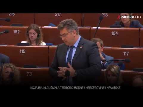 Šešelj mlađi vrijeđao Hrvatsku, pogledajte kako mu je Plenković odgovorio