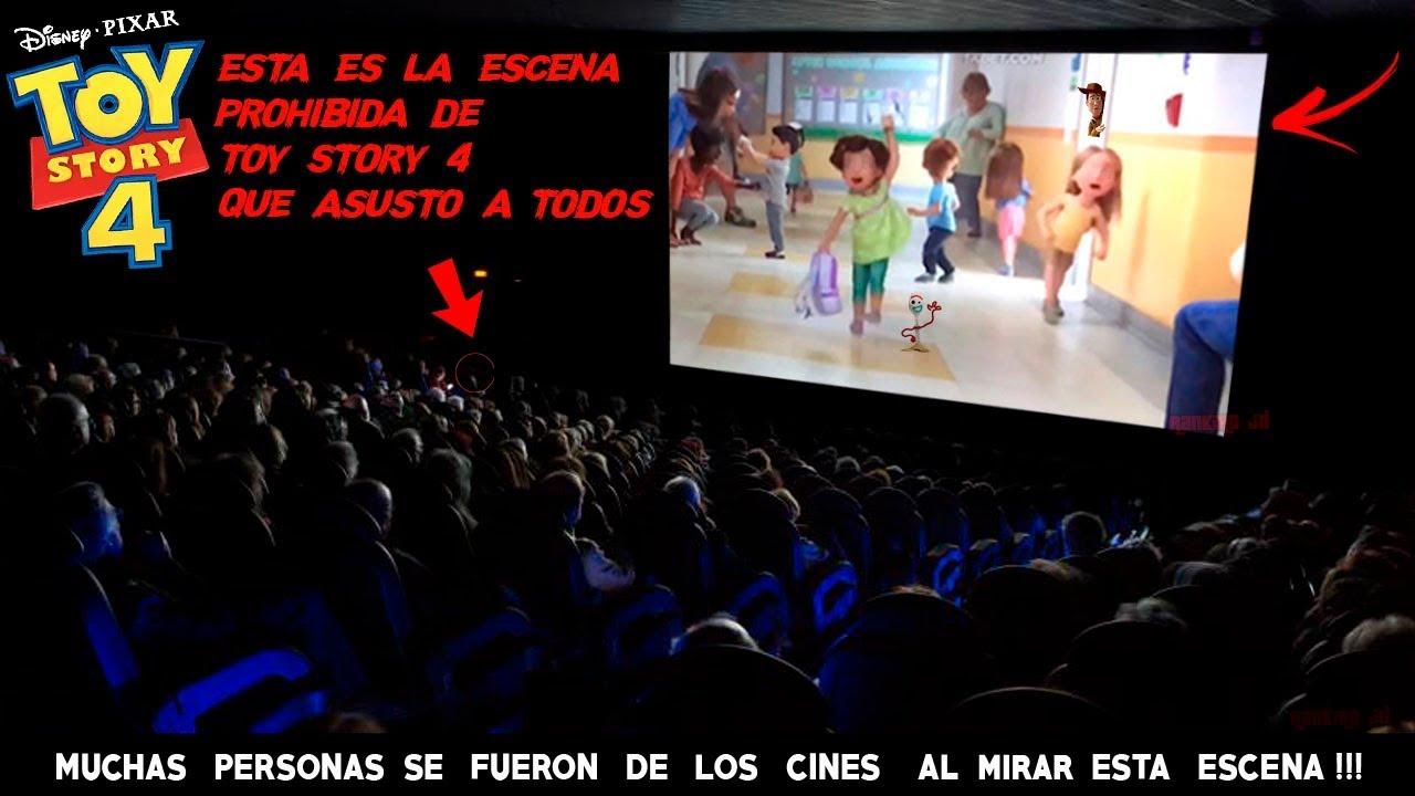 Esta es la Escena Prohibida de Toy Story 4 Que No viste Ten Cuidado