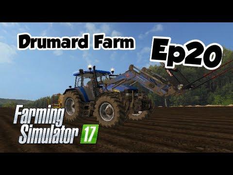 Planting The Wrong Crop || Ep20 || Drumard Farm || Farming Simulator 17