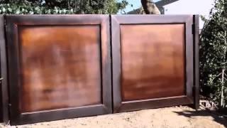 Iron Gate Patina Finish | Mulholland Security 818-696-8009