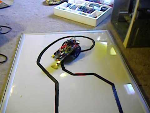 Line Follower Robot using Microcontroller