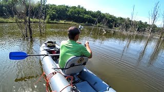 Рыбалка на щуку в коряжнике. ✔️ Проект - Незнакомый водоем #1