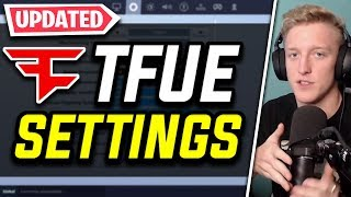 *NEW* TFUE Fortnite Settings and Keybinds (UPDATED SENS, KEYBOARD & MORE)