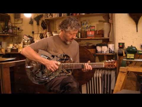 Icarus 'Hawaiian' Duolian Resonator Guitar - played by Roger Hubbard