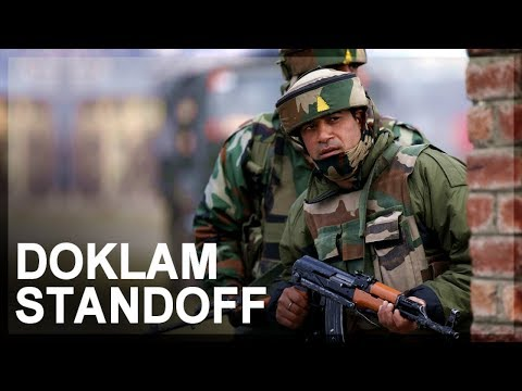India-China standoff in Doklam