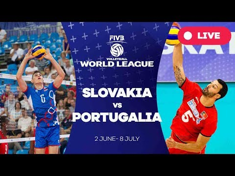 Slovakia v Portugal - Group 2: 2017 FIVB Volleyball World League