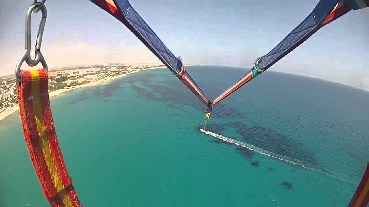 saut en parachute hammamet