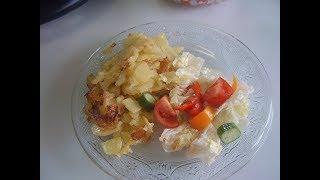 Жареная картошка. Маринкины творинки