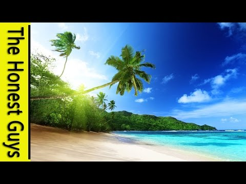 GUIDED MEDITATION -The Tropical Beach - Deep Relaxation & Sleep