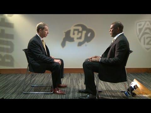 Mel Tucker, new CU Buffaloes football coach, sit-down interview