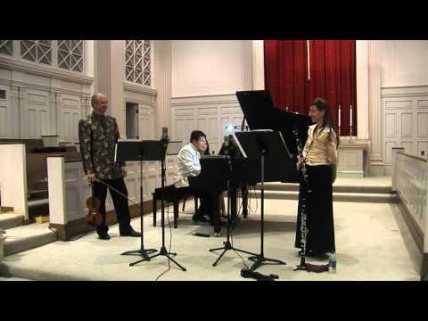 "Trio Clavino plays Peter Schickele's ""Variations"""
