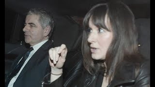 Rowan Atkinson and girlfriend Louise Ford enjoy rare date night