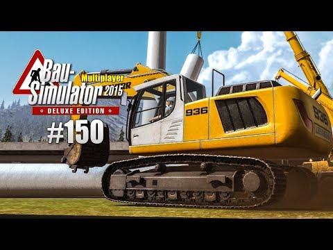 Bau-Simulator 2015 Multiplayer #150 - das WINDRAD STEHT! CONSTRUCTION SIMULATOR Deluxe |