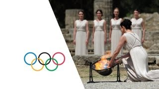 Lighting of Olympic flame sparks start of Sochi 2014 Olympic Torch Relay