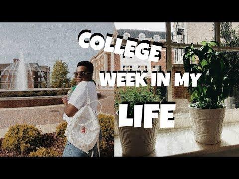 COLLEGE WEEK IN MY LIFE | Tyler Samples
