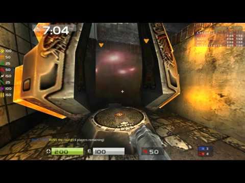 Quake Live: Deathknight - Australia Clan arena - Asylum woopage