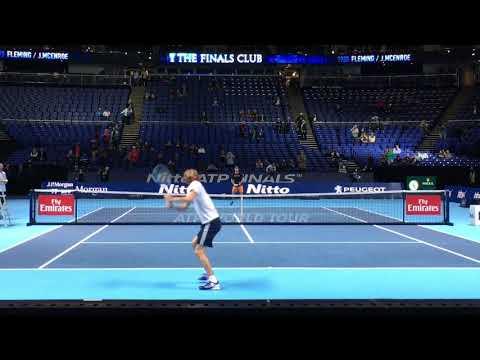 """Alexander """"Sascha"""" Zverev Nitto ATP finals"""
