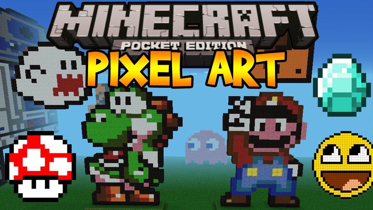 Pixel Art! - Minecraft Pocket Edition