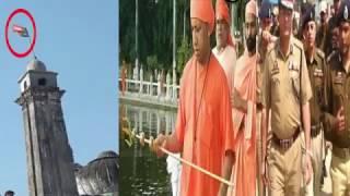U.P में BJP की दबंगई शुरू, मस्जिदों पर फहराया गया BJP का झंडा....U.P mai BJP ki dabangai
