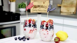 4th of July Lemon Berry Parfait | Limoneira