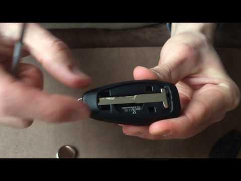 how to change ford keyless remote key battery focus k. Black Bedroom Furniture Sets. Home Design Ideas