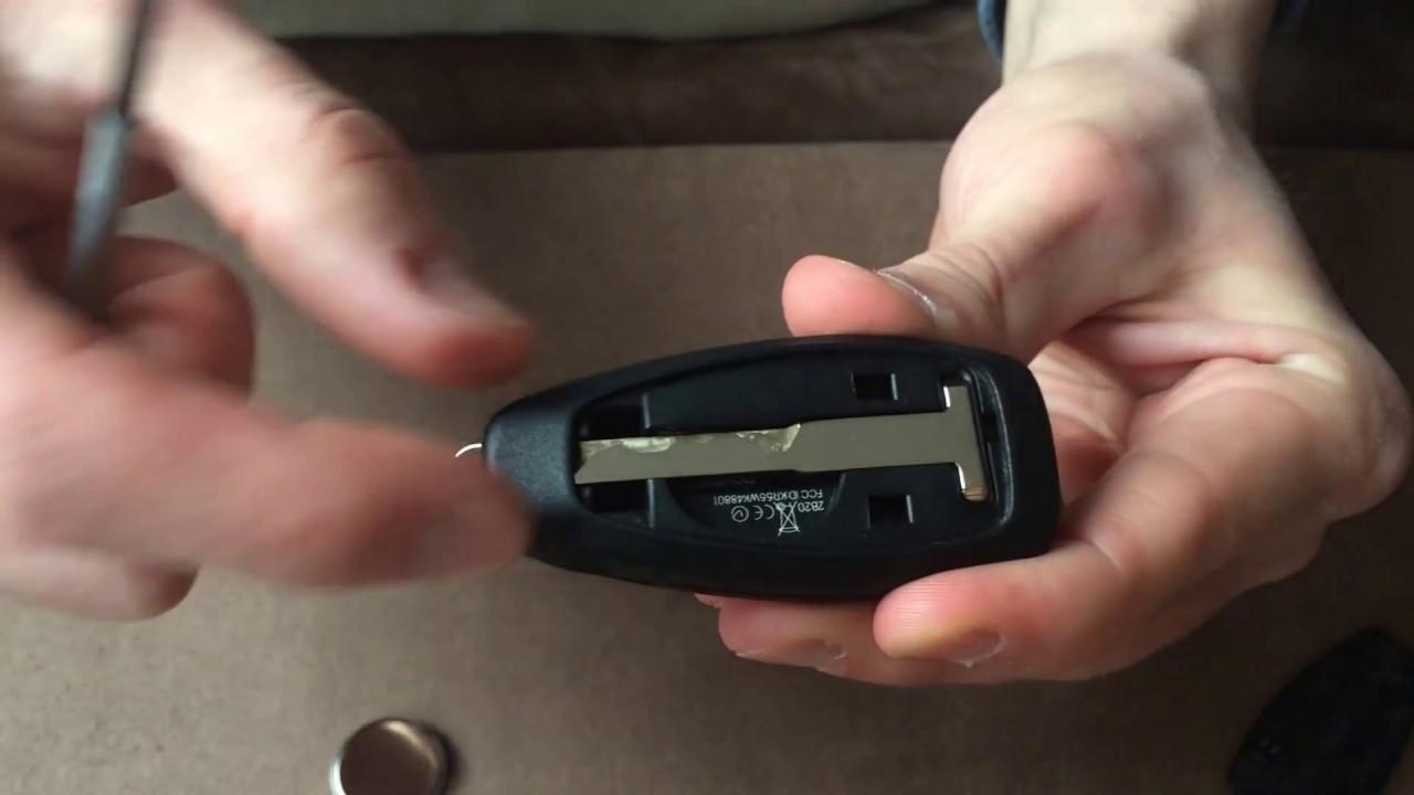 hack anleitung ford keyless go schl ssel batterie wechseln in nur 1 minute deutsch youtube. Black Bedroom Furniture Sets. Home Design Ideas