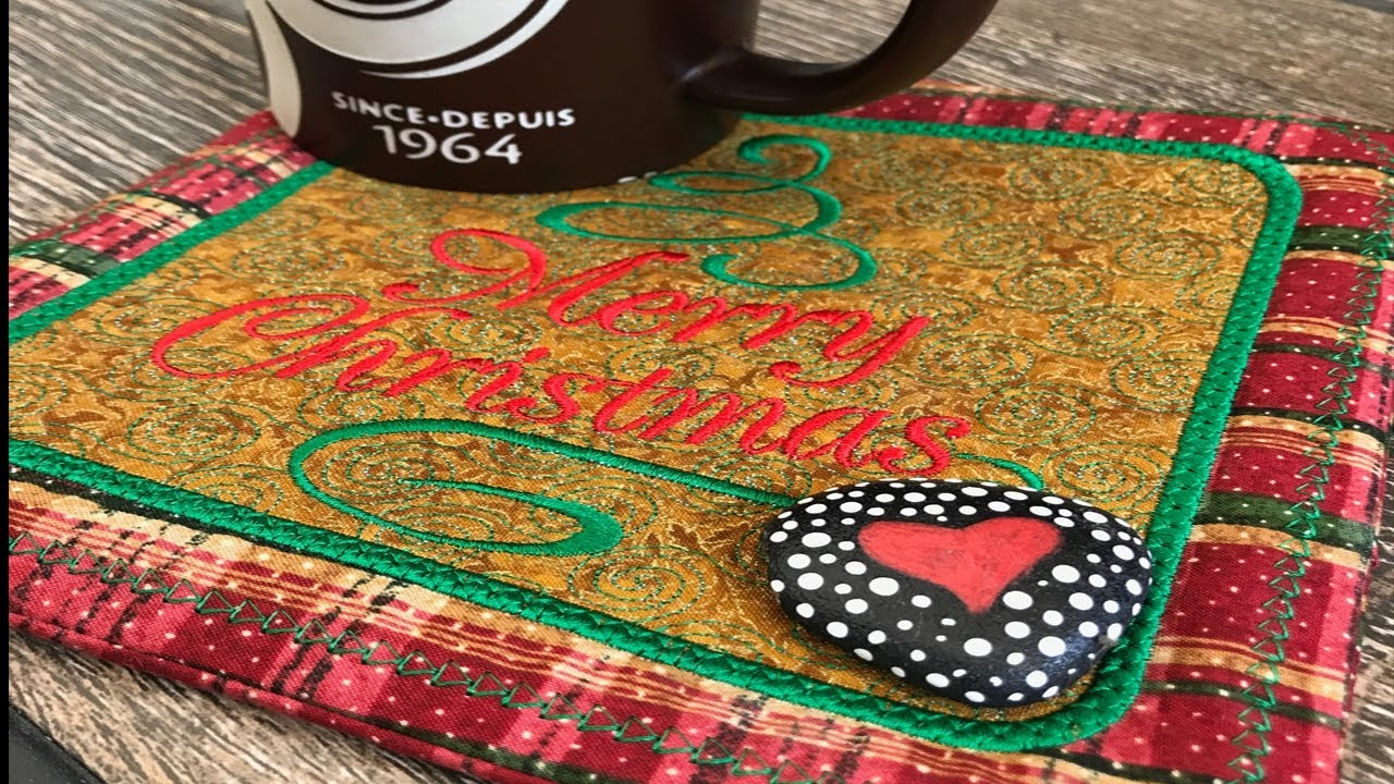 OML Embroidery Live!Kreative Kiwi ITH in the hoop Christmas