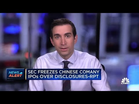 Download SEC freezes Chinese company IPOs over disclosures: Report