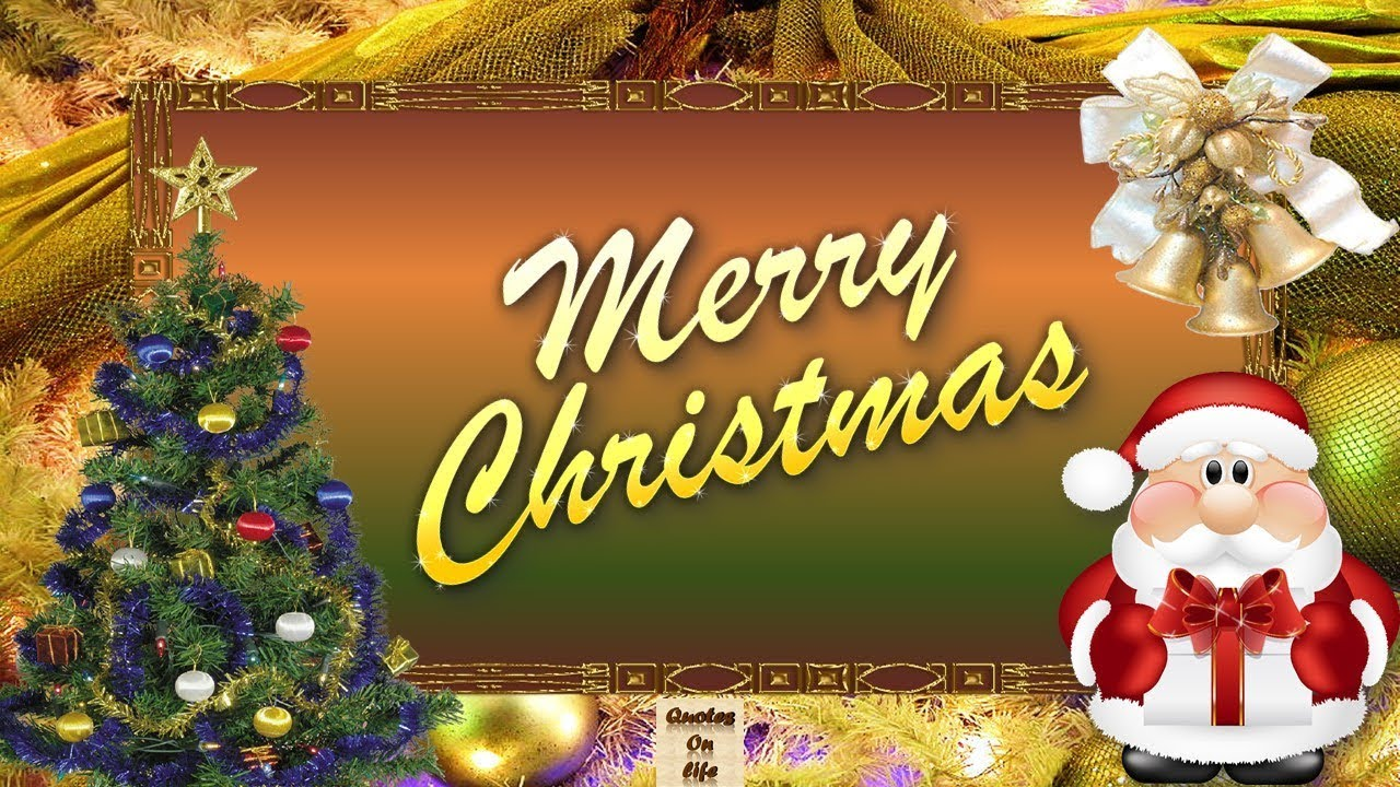 Animated Merry Christmas Greetingsmerry Christmas Animated