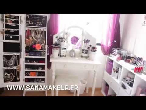 Download video room tour mes rangements make up - Rangement maquillage commode ...