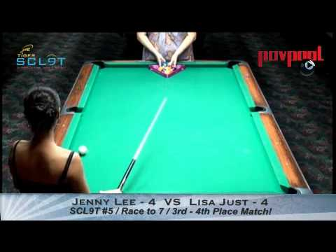 4th Place Match! SCL9T #5 - Lisa Just VS Jenny Lee / Sept, 2012