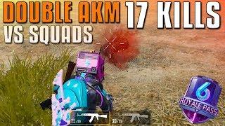 DOUBLE AKM - 17 KILLS! | PЏBG MOBILE Season 6