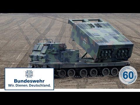 60 Sekunden Bundeswehr: Raketenwerfer MARS-II