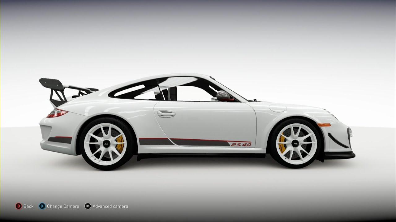 Forza Horizon 2 - 2012 Porsche 911 GT3 RS 4.0 (997) - YouTube
