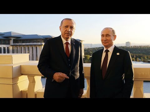 Russian president hails nuclear partnership with Turkey