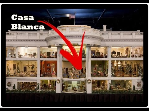 La casa blanca por dentro washington 3 youtube - Casas por dentro ...