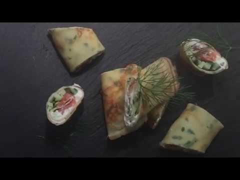 Семга с творожным сыром