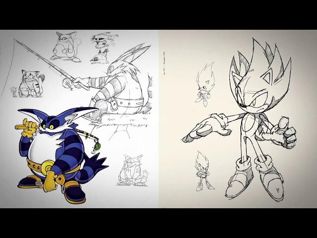 Sonic the Hedgehog - L'artbook qui ne manque pas de piquants !