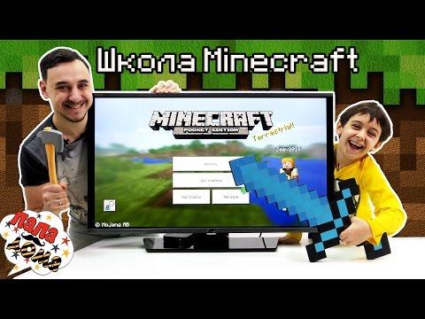 Папа РОБ и ЯРИК играют в приложения #МАЙНКРАФТ Minecraft Видео обзор для детей