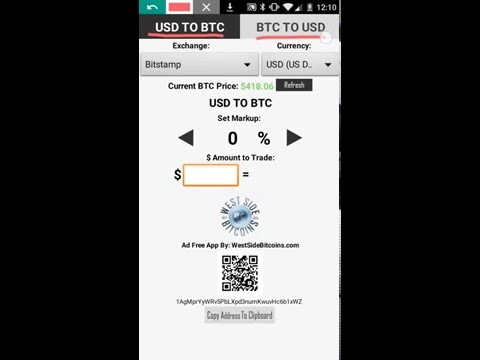 Bitcoin Trade Calculator App Tutorial