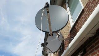 телевизор Самсунг. настройка спутниковых  каналов